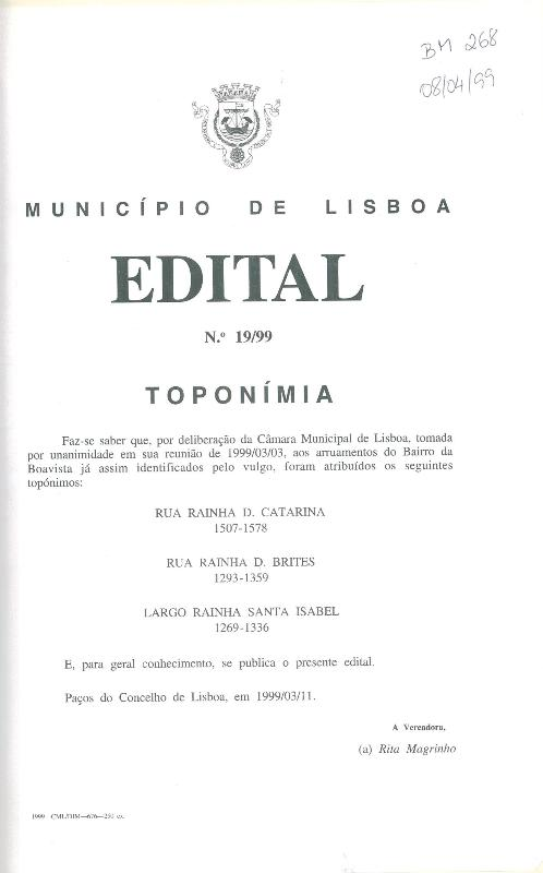 Edital nº 00/00