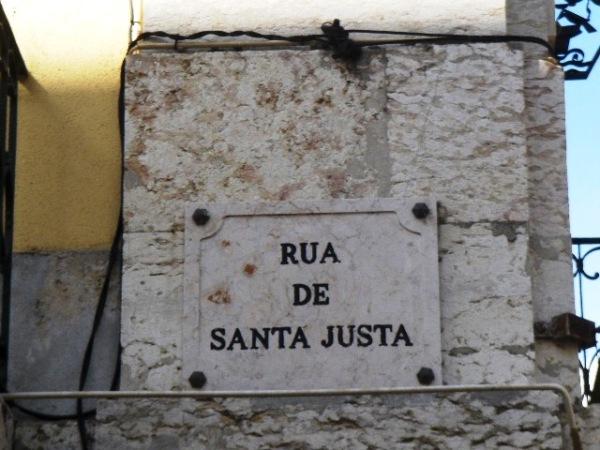 Freguesia de Santa Maria Maior - Placa Tipo III (Foto: Artur Matos)