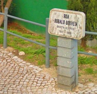 Rua Robalo Gouveia placa IV